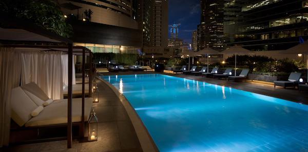 Conrad Hong Kong - Hotel Pools